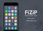 FiZiP is now on Cydia - Flat theme