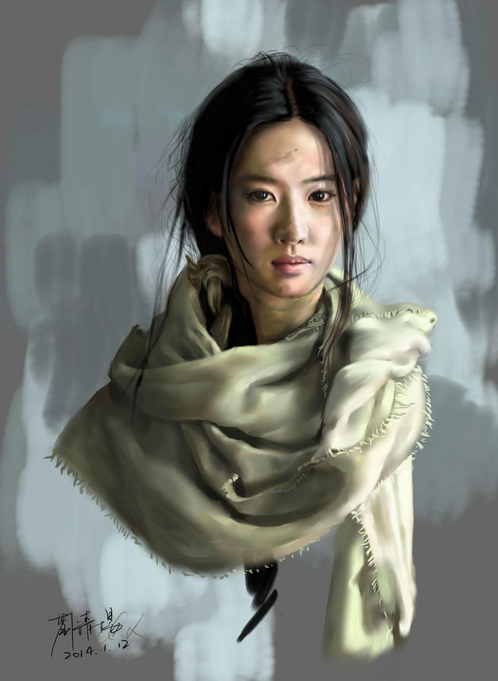 Yifei Liu: Yifei Liu By Buriedflowers On DeviantArt