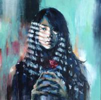 self portrait 2014.4 by buriedflowers