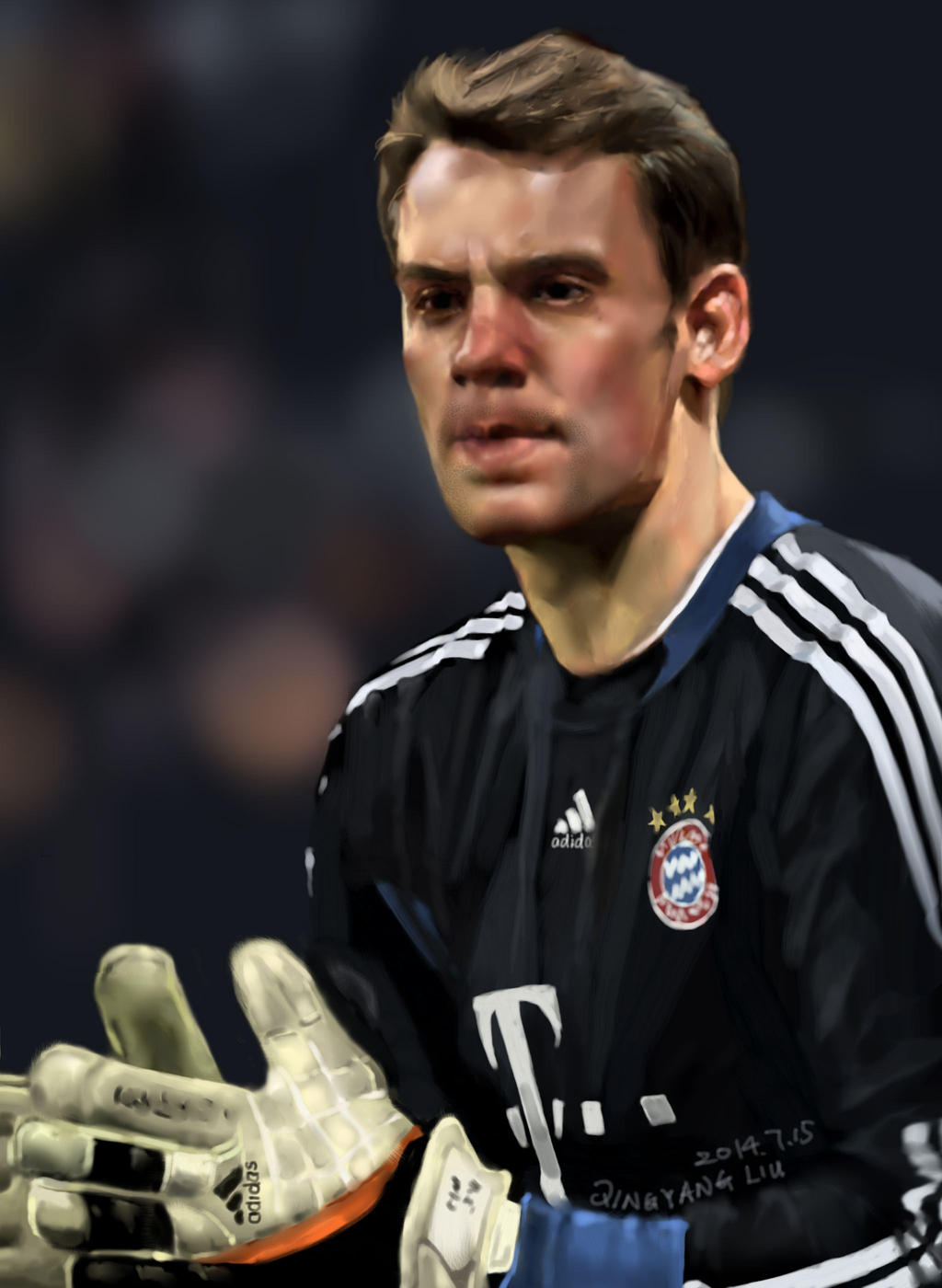 Manuel Neuer by buriedflowers on DeviantArt