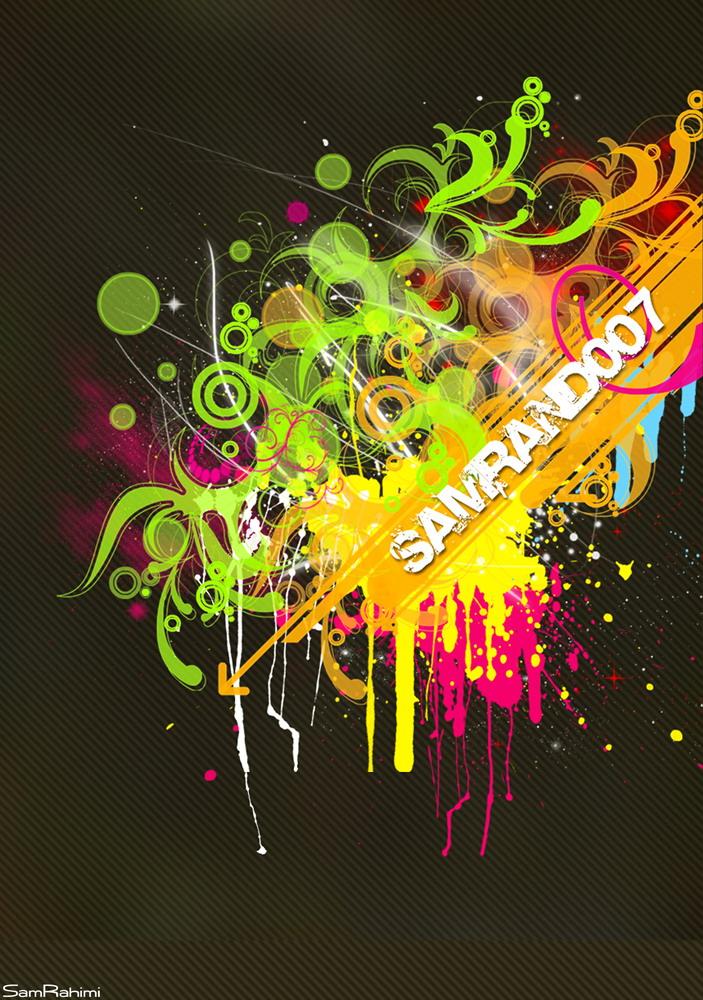 Abstract Sam by samrahimi