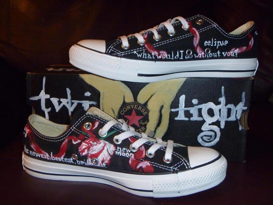 100% top quality so cheap shop Twilight Saga Converse Shoes by DazzledbyTwilight on DeviantArt