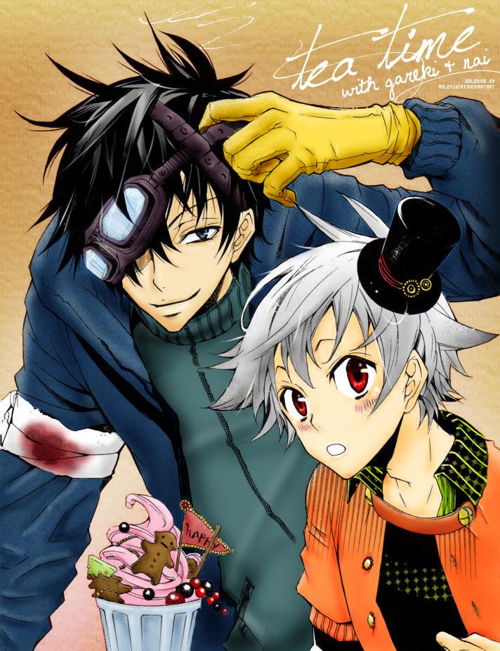 Karneval Manga CG :: Tea Time by miley26