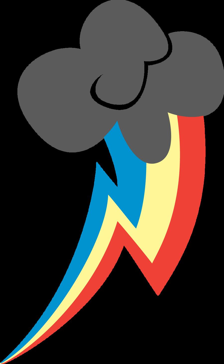 Rainbow dash cutie mark coloring page - Cutie Mark Image