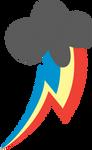 Super Rainbow Dash's cutie mark