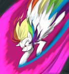 Super Rainbow Dash by JohnJoseco (colored)