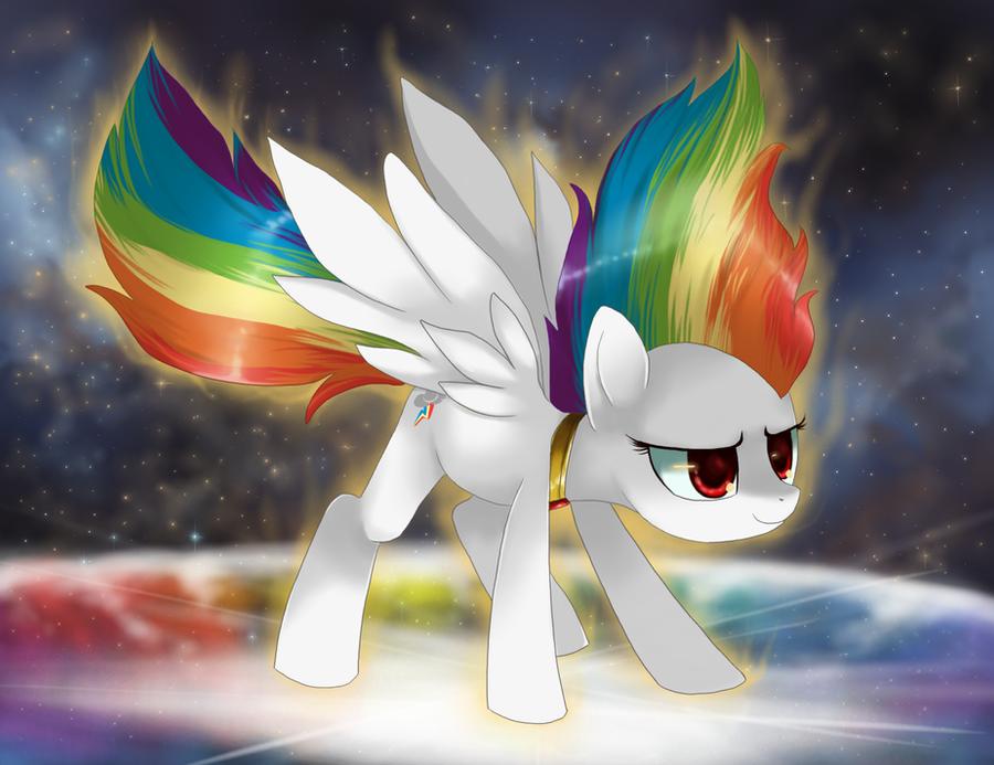 Super Rainbow Dash - Pure Confidence... by Super-Rainbow-Dash-Z