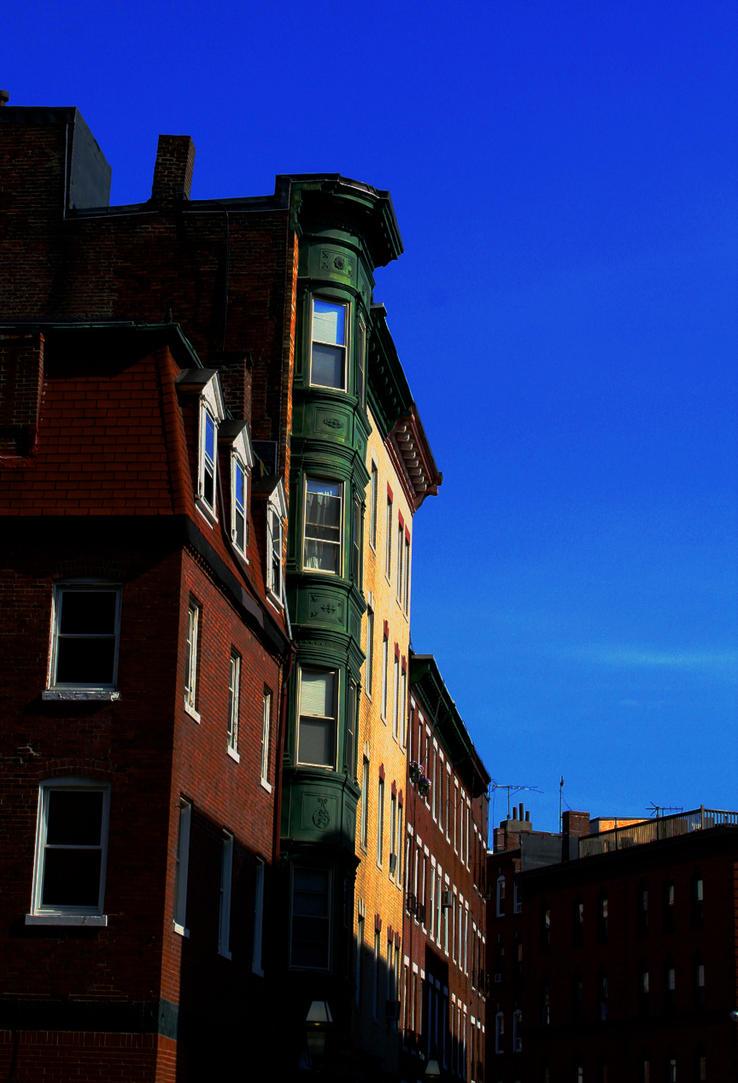 Downtown Boston by Thegoldenmane