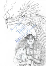 AWB Illustration Dragon Warrior