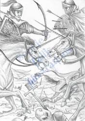 AWB Illustration Unicorn Battle