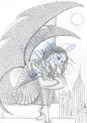 AWB Illustration Fallen Angel