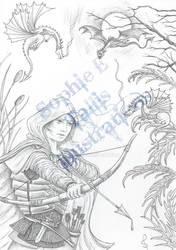 AWB Illustration Archer