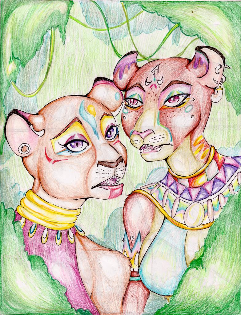 Huntress  by Coraline-176