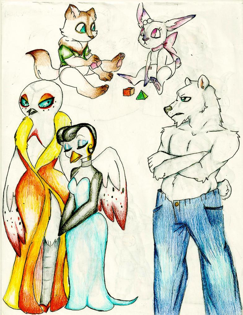 Furry Art Dump 4 by Coraline-176