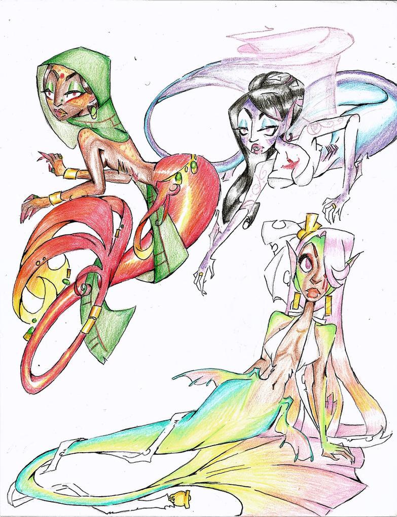 Mermaid Brides III by Coraline-176