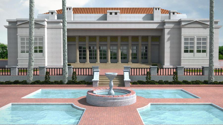 Scarface Mansion 3d Replica By Beshiek On Deviantart
