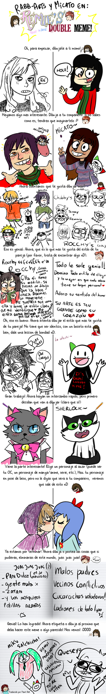 Meme de RABB ARTS y micato by Micatooo