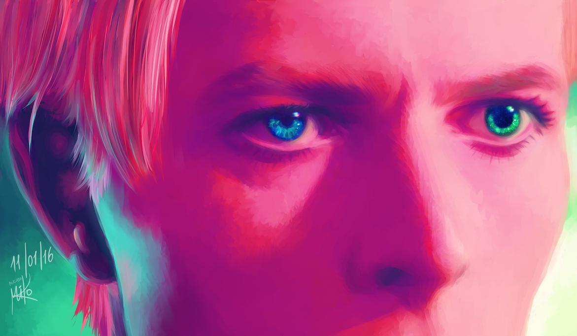 David Bowie by Micatooo
