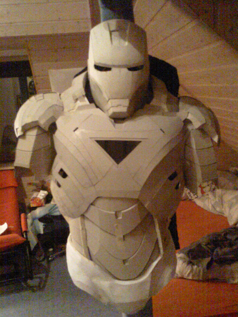 Iron man cardboard armor preview 1 by bullrick on deviantart for Cardboard armour template