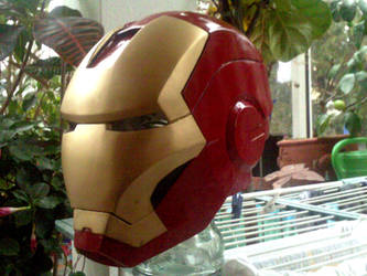 Iron Man Helmet by Bullrick