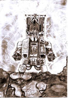 Dark Angels Dreadnought by Bullrick