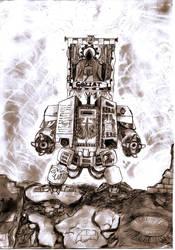 Dark Angels Dreadnought by Bullrick