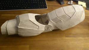 Iron Man Cardboard Arm Aquaresined