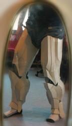 Iron Man Cardboard Legs preview