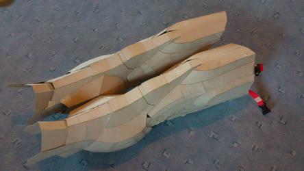 Iron Man Cardboard Legs