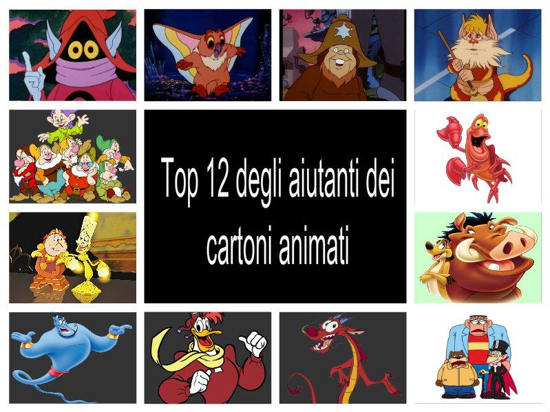 Top degli aiutanti dei cartoni animati by emmanueldup