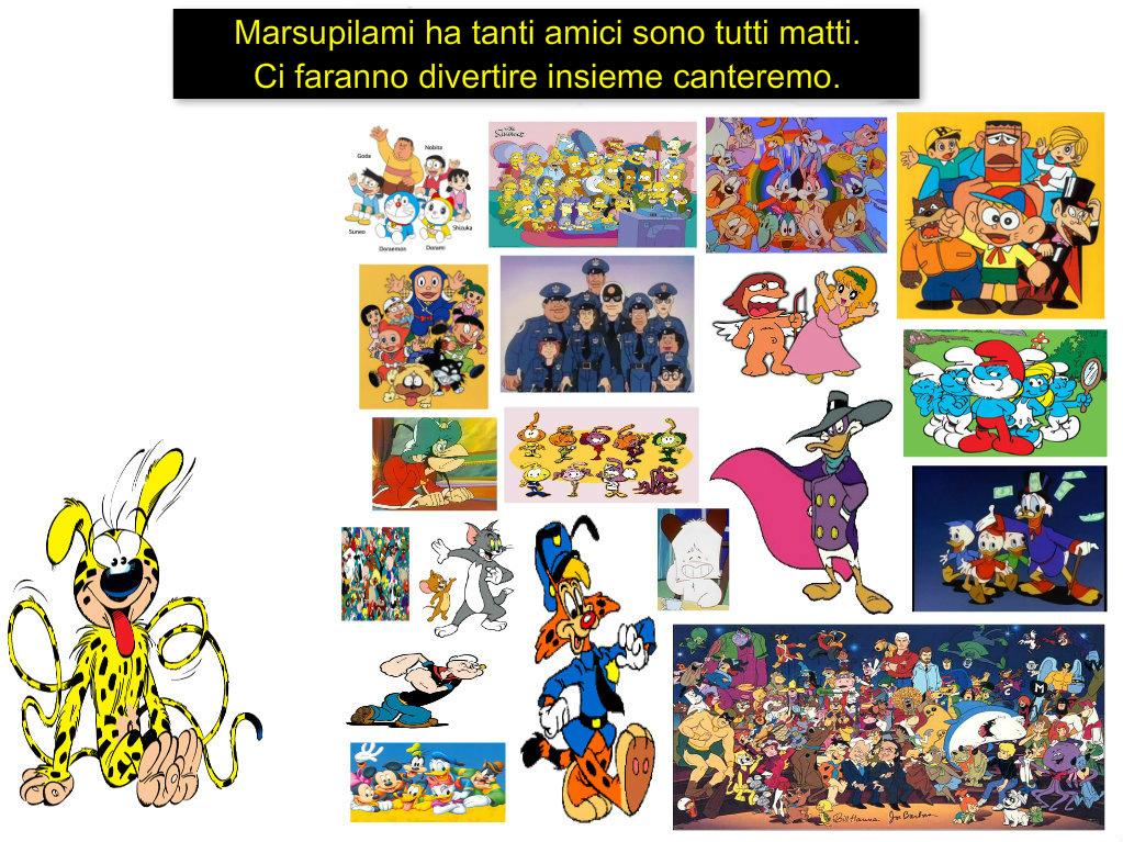 Come dice nel cartone animato marsupilami by emmanueldup