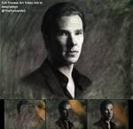 Drawing Benedict Cumberbatch / Sherlock Holmes