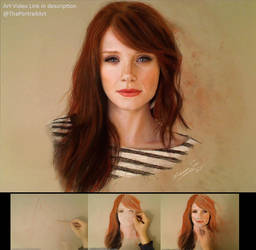 Drawing Claire / Bryce Howard (Jurassic park)