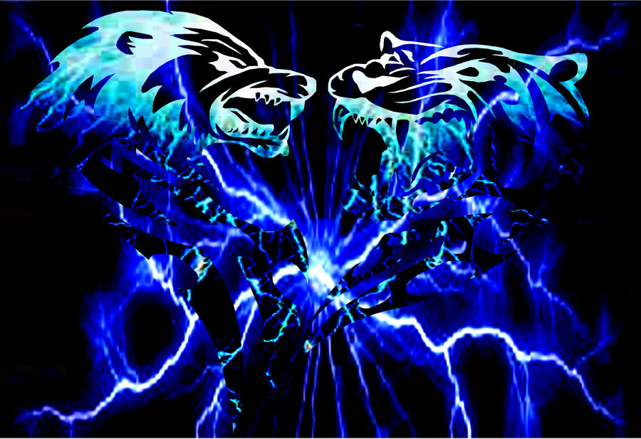 wolves and lightning wallpapers - photo #19