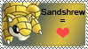 Sandshrew stamp by colinlover45