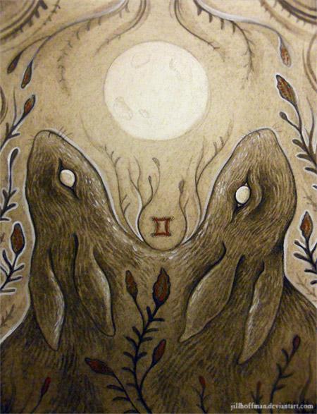 Gemini Moon by JillHoffman