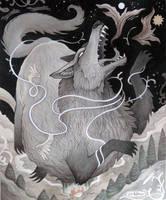 The Fenris Wolf by JillHoffman