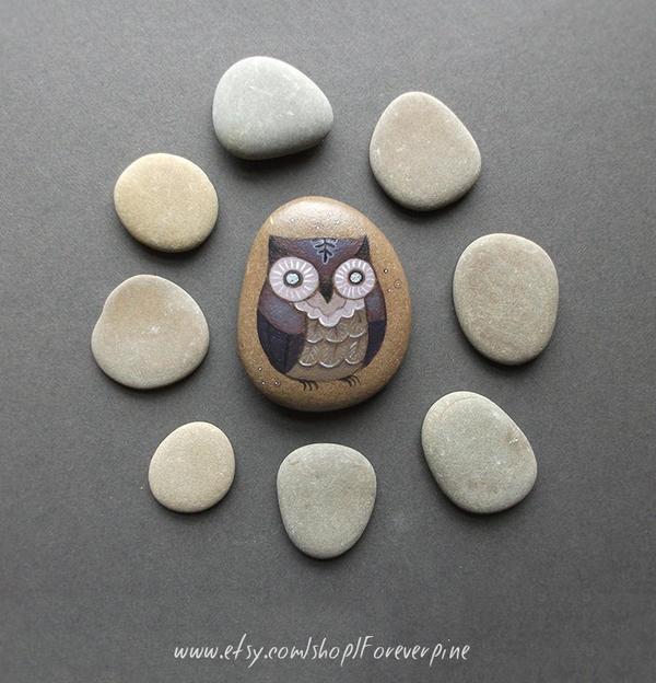 Violet owl by JillHoffman