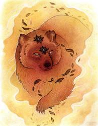 Fear Bear by JillHoffman