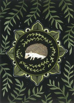 Hedgehog Medallion