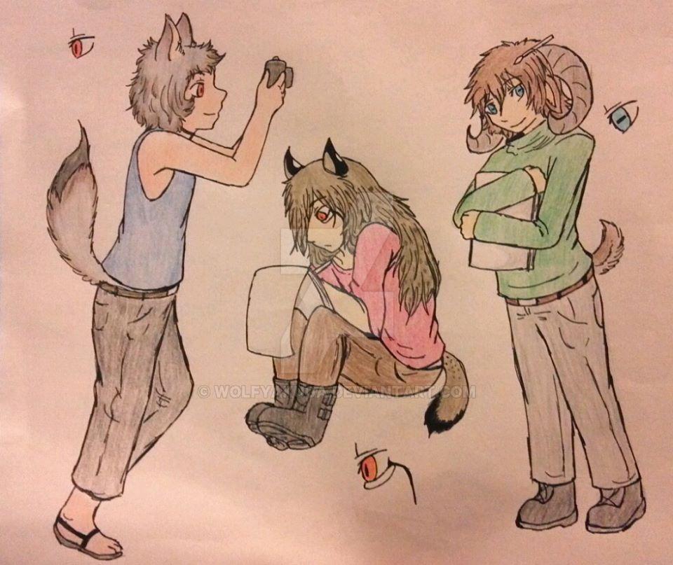 Concurso - Mascota DeviantEns by WolfYakuga