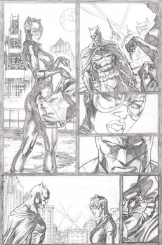 Catwoman sample page 1