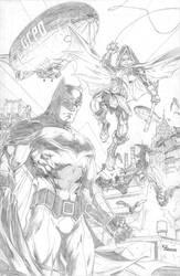 Batman and Robin by camadams0925
