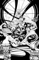 Doctor Strange inks