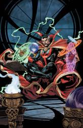 Doctor Strange colors by camadams0925