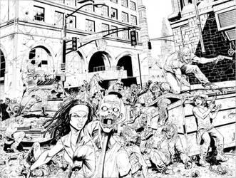 Walking Dead commission by camadams0925
