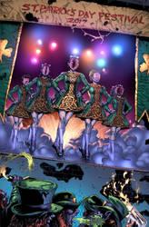 Outbreak Comics-Happy St. Pattys Day promo by camadams0925