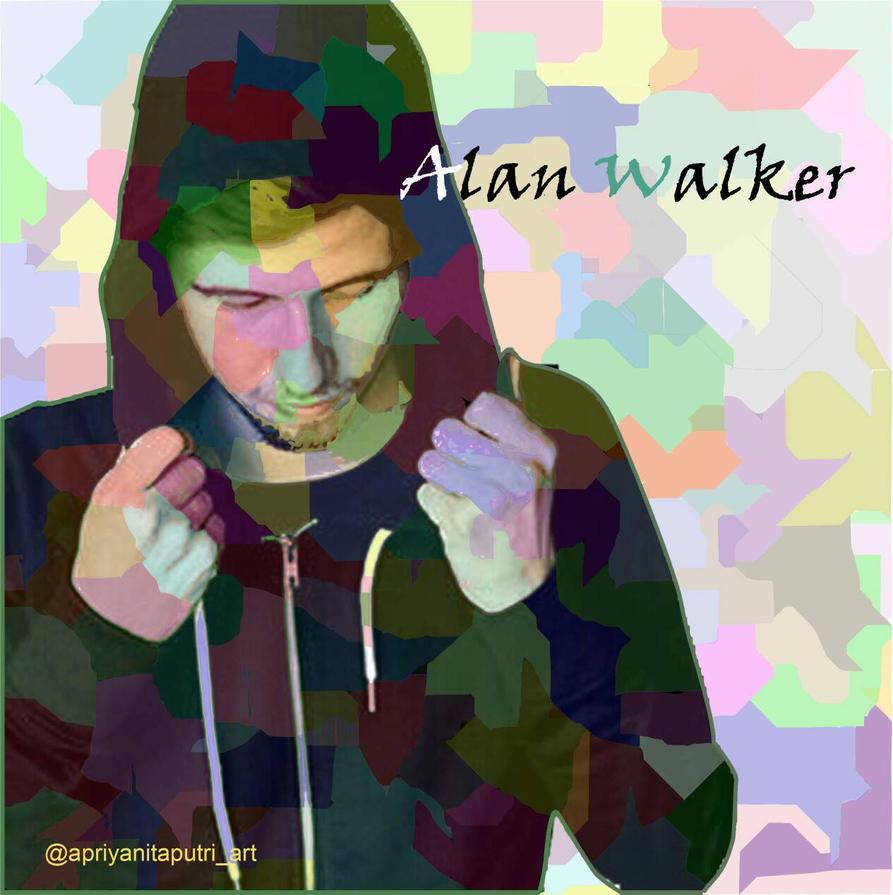 Colourful Alan Walker By Nitaputriap On DeviantArt