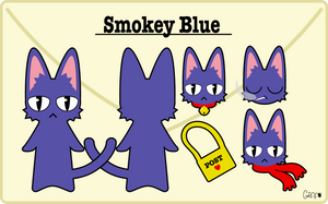 Smokey Blue reff