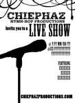 Chiephaz Live Show Flyer Proof